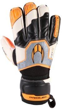 Перчатки вратарские HO SOCCER Basic protek flat orange legend 051.0729